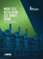 Model 1221 Distillation Gas Sample Probe Brochure